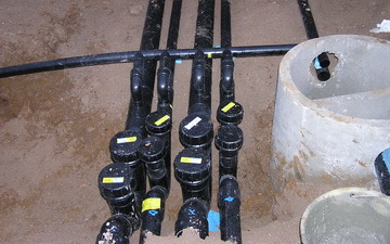Impianto scarico acque reflue