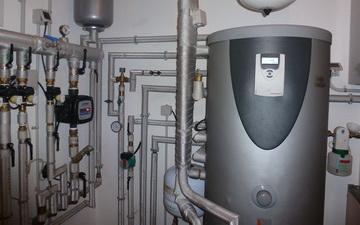 Accumulo acqua calda sanitaria sfruttando l'energia solare