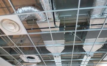 Impianto climatizzazione canalizzato con aria di rinnovo