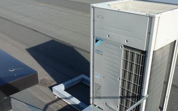 Impianto climatizzazione con gas a flusso variabile